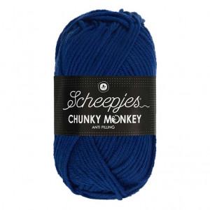 Scheepjes® Chunky Monkey Anti Pilling Yarn - Royal Blue (1117)