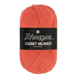 Scheepjes Chunky Monkey Anti Pilling Yarn - Coral (1132)