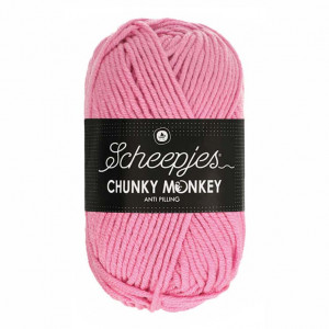 Scheepjes® Chunky Monkey Anti Pilling Yarn - Rose (1241)