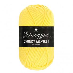Scheepjes® Chunky Monkey Anti Pilling Yarn - Lemon (1263)