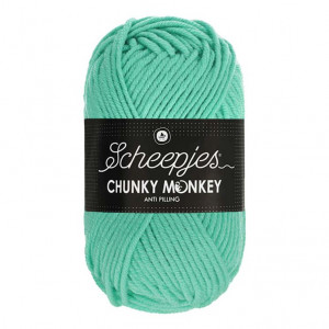 Scheepjes® Chunky Monkey Anti Pilling Yarn - Aqua (1422)