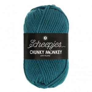 Scheepjes® Chunky Monkey Anti Pilling Yarn - Petrol (1708)