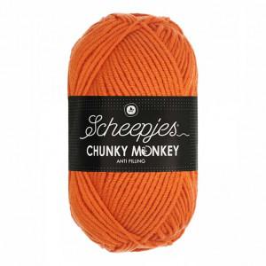 Scheepjes® Chunky Monkey Anti Pilling Yarn - Deep Orange (1711)