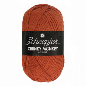 Scheepjes® Chunky Monkey Anti Pilling Yarn - Flame (1723)
