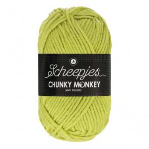 Scheepjes® Chunky Monkey Anti Pilling Yarn - Chartreuse (1822)