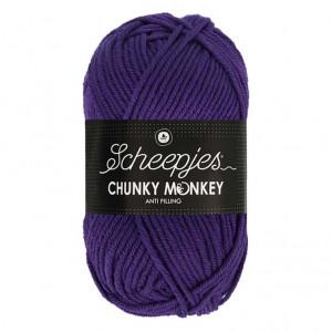 Scheepjes® Chunky Monkey Anti Pilling Yarn - Deep Violet (2001)