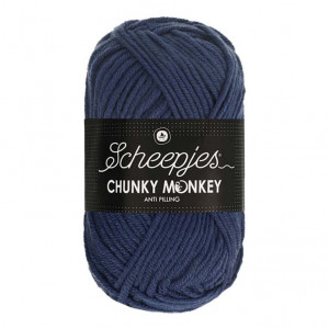 Scheepjes® Chunky Monkey Anti Pilling Yarn - Navy (2005)
