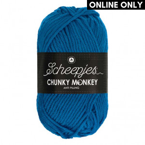 Scheepjes® Chunky Monkey Anti Pilling Yarn - Ultramarine (2011)