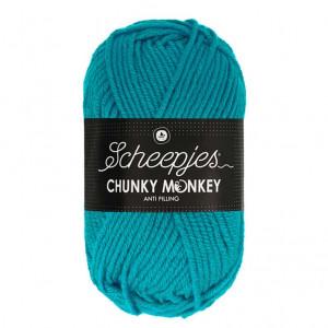 Scheepjes® Chunky Monkey Anti Pilling Yarn - Deep Turquoise (2012)