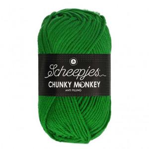 Scheepjes Chunky Monkey Anti Pilling Yarn - Emerald (2014)
