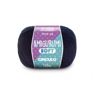 Circulo Amigurumi Soft Yarn - Anil Profundo (2401)