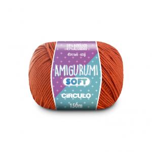 Circulo Amigurumi Soft Yarn - Tijolo (4140)