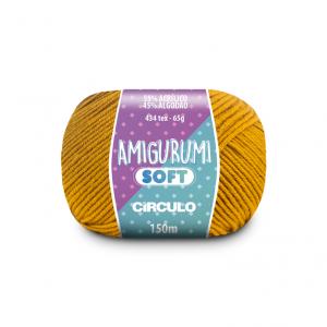 Circulo Amigurumi Soft Yarn - Mostarda (7069)