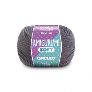 Circulo Amigurumi Soft Yarn - Cinzelado (8464)