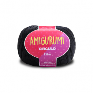 Circulo Amigurumi Yarn - Preto (8990)