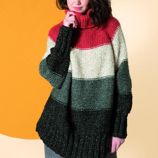 Bergere de France Cocooning Pattern - Sweater Cape