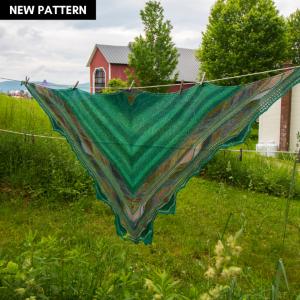 Vacation Butterfly Shawl Knitting Pattern