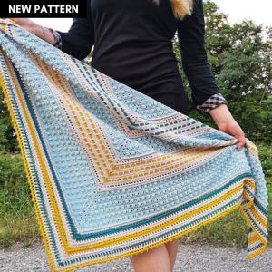 Cotton Performance Shawl Crochet Pattern