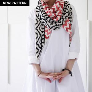 Emilio Shawl Knitting Pattern