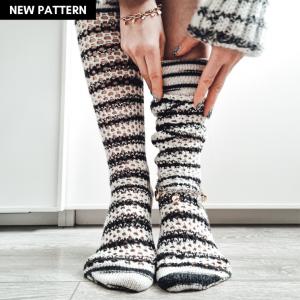 Holy Socks Knitting Pattern