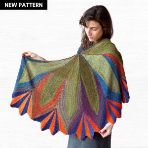 Petals Shawl Knitting Pattern