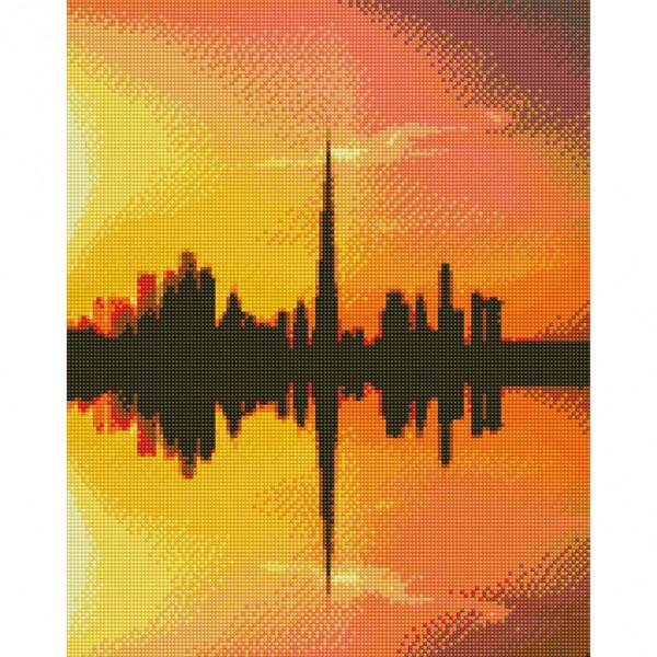 Handmayk Premium Diamond Art Kit - Dubai Skyline by Alpha Spotting