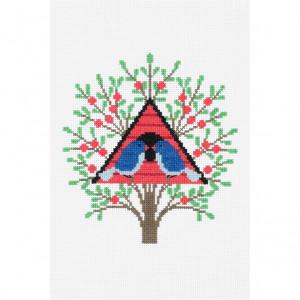 DMC® Counted Cross Stitch Kit - Bird House