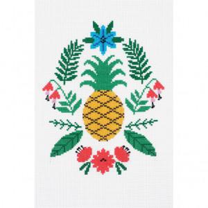 DMC Counted Cross Stitch Kit - Pineapple