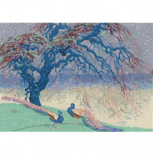 DMC Counted Cross Stitch Kit - When Winter Wanes by William Giles