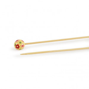 "DMC® 16"" Bamboo Single Point Knitting Needles - 2.5 mm."
