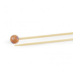 "DMC® 16"" Bamboo Single Point Knitting Needles - 3.5 mm."