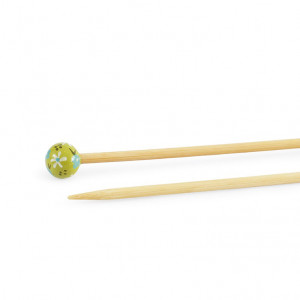 "DMC® 16"" Bamboo Single Point Knitting Needles - 4.5 mm."