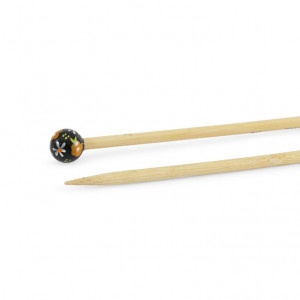 "DMC® 16"" Bamboo Single Point Knitting Needles - 5.5 mm."