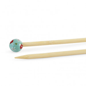 "DMC® 16"" Bamboo Single Point Knitting Needles - 7 mm."