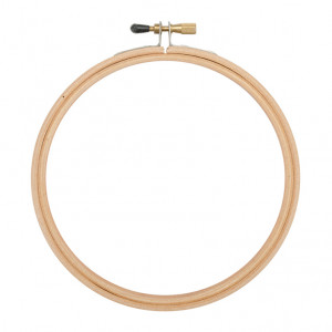 "DMC® 10"" Beech Wood Flexy Hoop"