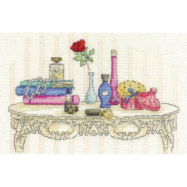 DMC Counted Cross Stitch Kit - Beauty
