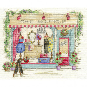 DMC® Counted Cross Stitch Kit - Chic Boutique