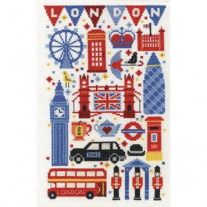 DMC® Counted Cross Stitch Kit - London Attractions