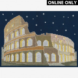 DMC® Counted Cross Stitch Kit - Rome by Night