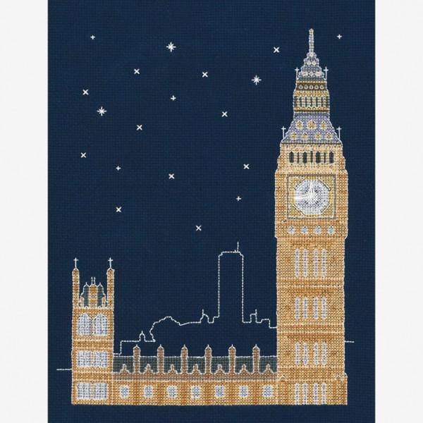 DMC Counted Cross Stitch Kit - London by Night