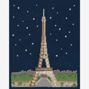 DMC Counted Cross Stitch Kit - Paris by Night
