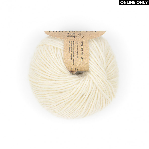 Baa Ram Ewe® Dovestone Natural Chunky Yarn (01)