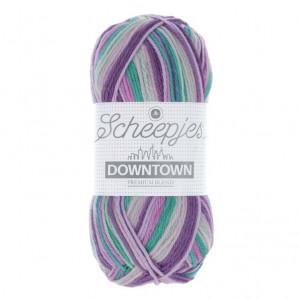 Scheepjes Downtown Sock Yarn - Morning Mist (402)