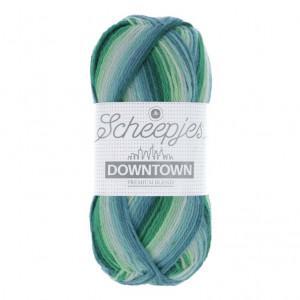 Scheepjes Downtown Sock Yarn - Leafy Suburb (403)