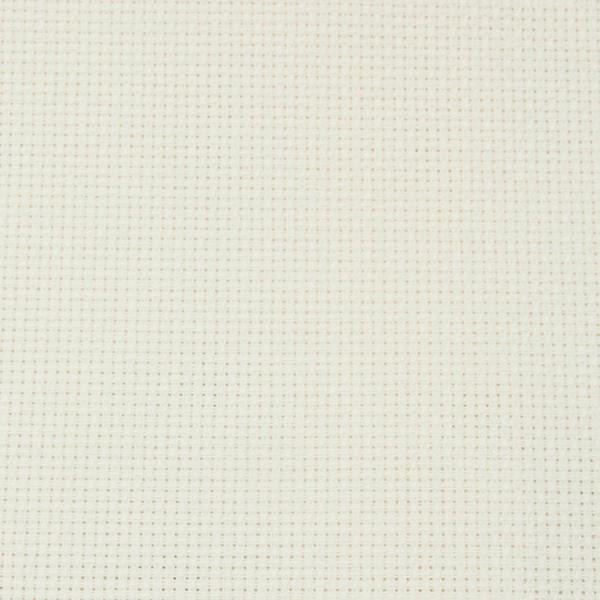 DMC Aida Cross Stitch Fabric, Flat Pack, 11ct, 50 cm. x 75 cm. (Ecru)