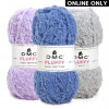 DMC® Fluffy Baby Yarn (642)