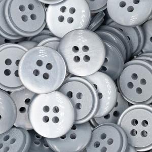 Handmayk Plastic Buttons, 12 mm., Pack of 6