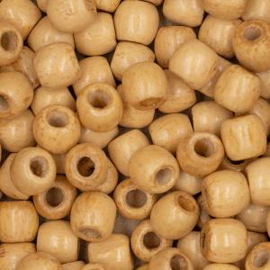 Handmayk Light Brown Beads, 10 mm., Pack of 12