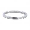 Handmayk Round Flat Split Keychain Ring, Pack of 20