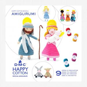 DMC Happy Cotton Amigurumi Pattern Book (Bethlehem)